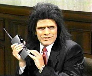 The Unfrozen Caveman Lawyer used to demonstrate early forms of magic on SNL in the '90s.