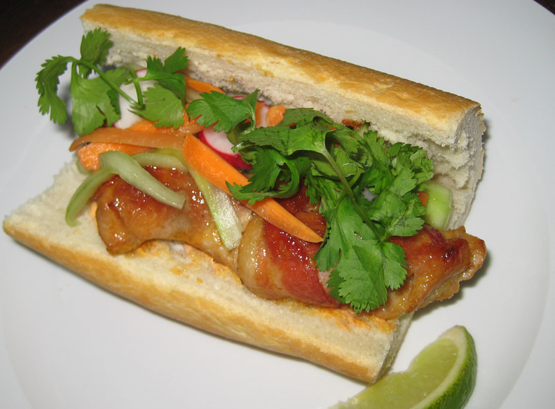 ... - recipes, recaps, and restaurant reviews: Chicken Bacon Banh Mi