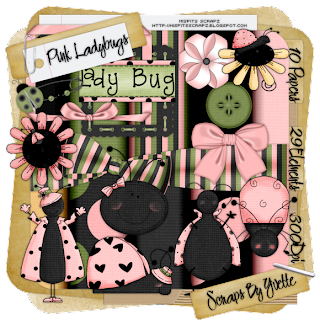 Texture** - Sayfa 2 Yvette_PinkLadybugs_Preview