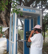 Sue Calls Dad From Staniel Cay
