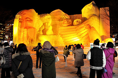 Esculturas - Festival de Hielo en Hokkaido