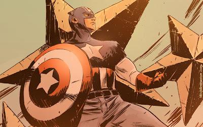 Impresionantes: Dibujos del Capitán América por Mitch Breitweiser