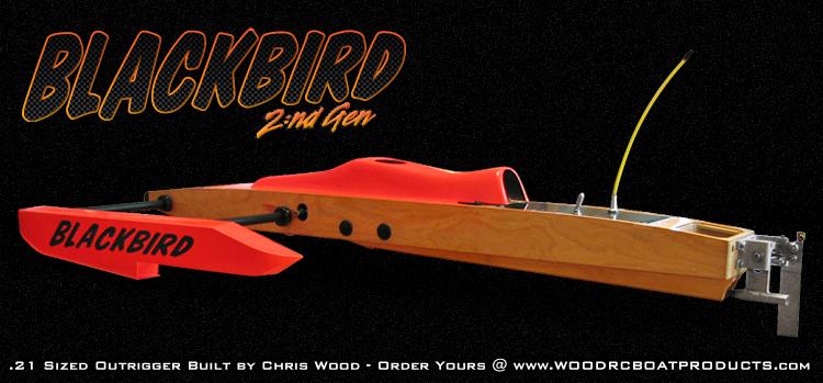 NE-Stuff: BlackBird G2 .21 Outrigger Hydroplane