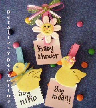 Detalles y destellos detalles para baby shower - Detalles para baby shower ...