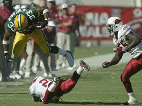 Green Bay Packers at Arizona Cardinals Betting Odds