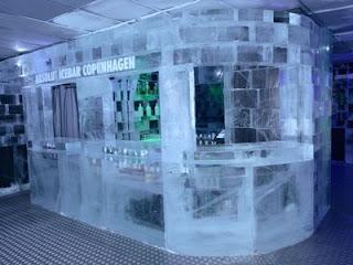 icebar em Copenhagen, Dinamarca