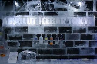 icebar em Tókio, Japão 2