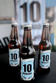 Cerveja em homenagem A Maradona