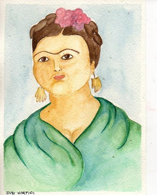Frida se fosse un Botero