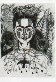 My Frida   cartolina da originale