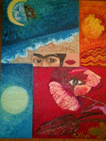 Pensando a frida Kahlo