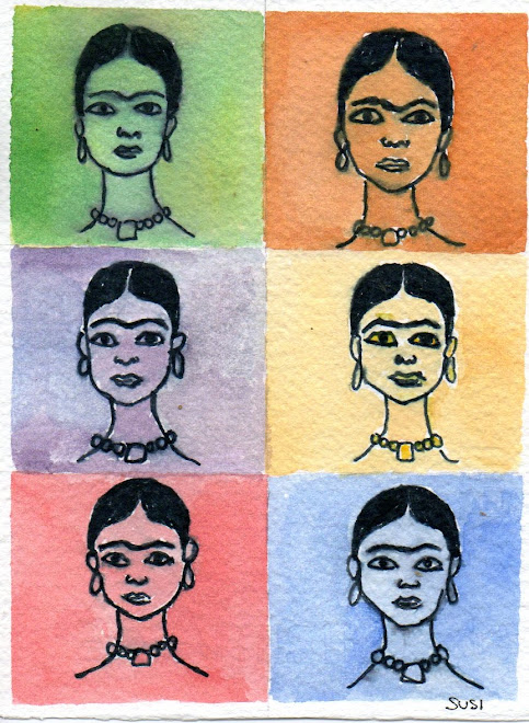 Dedicato a Frida ( acquerello)