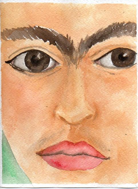 Particolare di ritratto 2( acquerello)