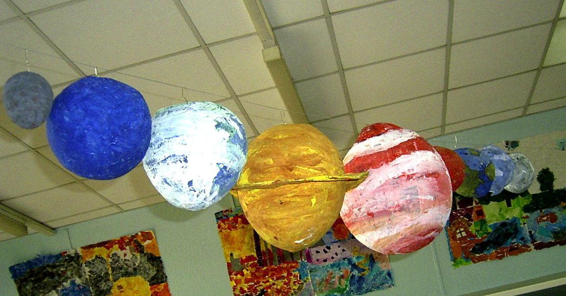 Как сделать из бумаги планету юпитер