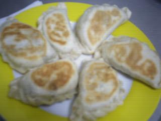 Empanadas light de champignones