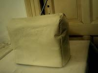 Cubre máquina de coser de ecocuero