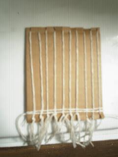Como preparar un mini telar casero