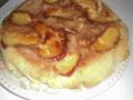Torta tibia de peras y manzanas