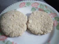 Cómo hacer milanesas de soja con salvado-paso a paso.