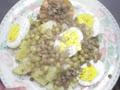 Ensalada diet invernal: 500 cal aprox.