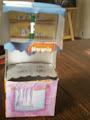 Reciclaje de tetrapack : Una cocina para las muñecas- Por Martin