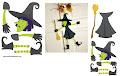 Tarjeta de Halloween para imprimir
