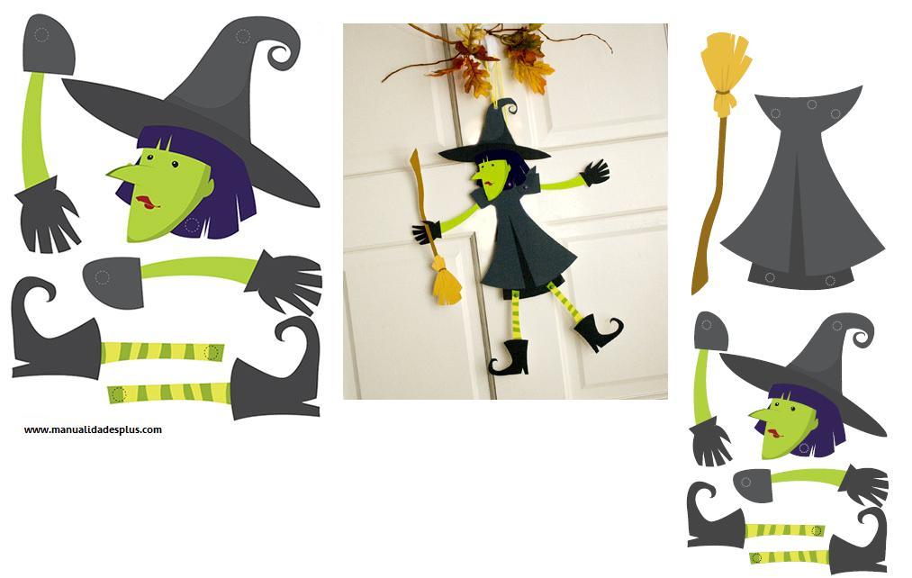 Tarjeta de halloween para imprimir - Adornos de halloween para hacer en casa ...