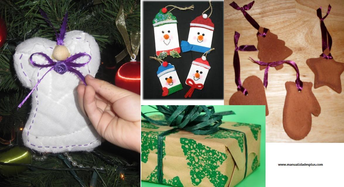 Ideas faciles para navidad for Adornos de navidad faciles