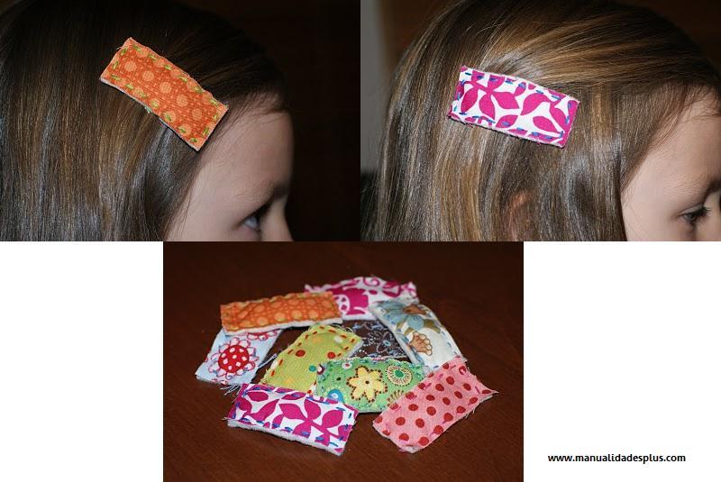 Como hacer flores con retazos de tela todo manualidades - Manualidades de tela faciles ...