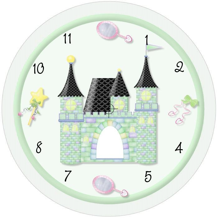 Plantillas de reloj gratis - Manualidades relojes infantiles ...
