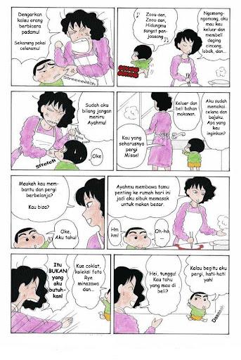 Komik Crayon Shin Chan page 3