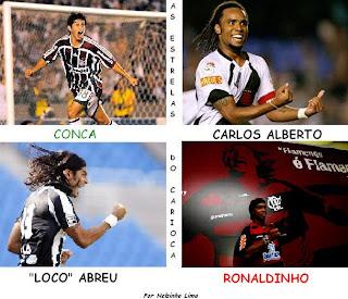 As estrelas do Carioca