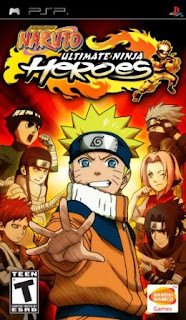 Naruto Ultimate Ninja Heroes 1 Psp English