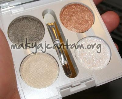 makyaj örnekleri göz makyajı kozmetik mac pigment pressleme cilt bakımı güzellik