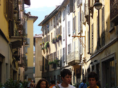 Quaint and Narrow Streets of Como