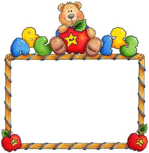 Bordes de fotos infantiles - Imagui
