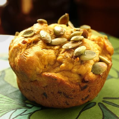 SAVOURY PUMPKIN AND CAREMALISED ONION MUFFINS