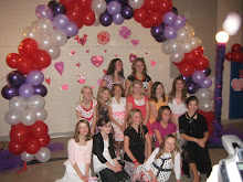 Best Friends at the Valentines Dance