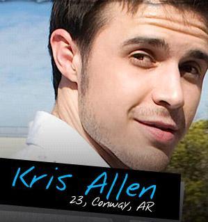 Kris Allen sexy look
