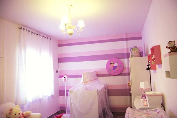 Ser pai é bom O quarto pronto! ~ Quarto Rosa Com Branco