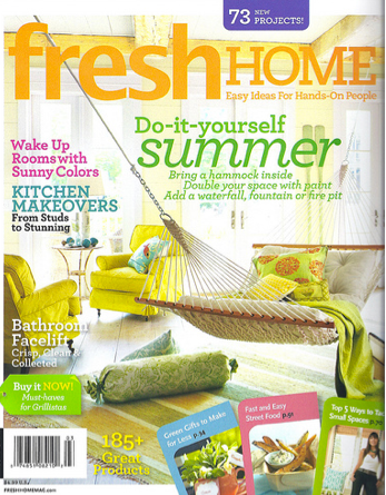 new press fresh home magazine summer issue 2010 turquoise interior