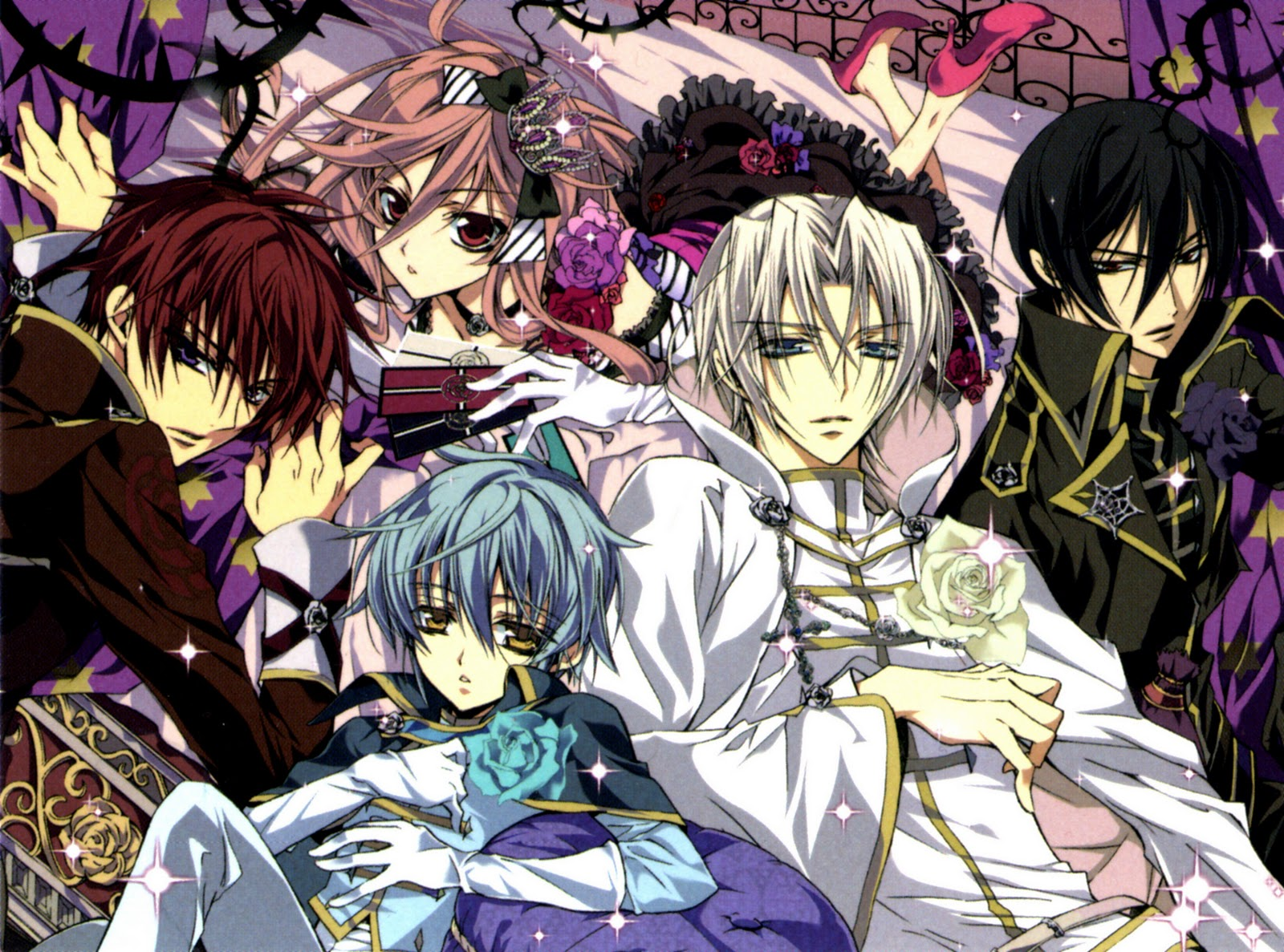 Animefreak barajou no kiss manga - Manga princesse ...