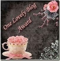 My First Blog Award..