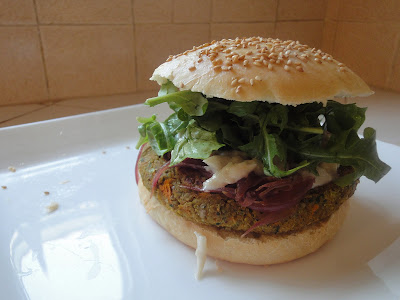 Diana Takes a Bite: Defiling My Buns with Greek-Style Quinoa Burgers