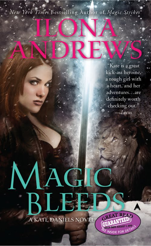 Vc Andrews Book Cover Art : Scifiguy cover art quot magic bleeds by ilona andrews