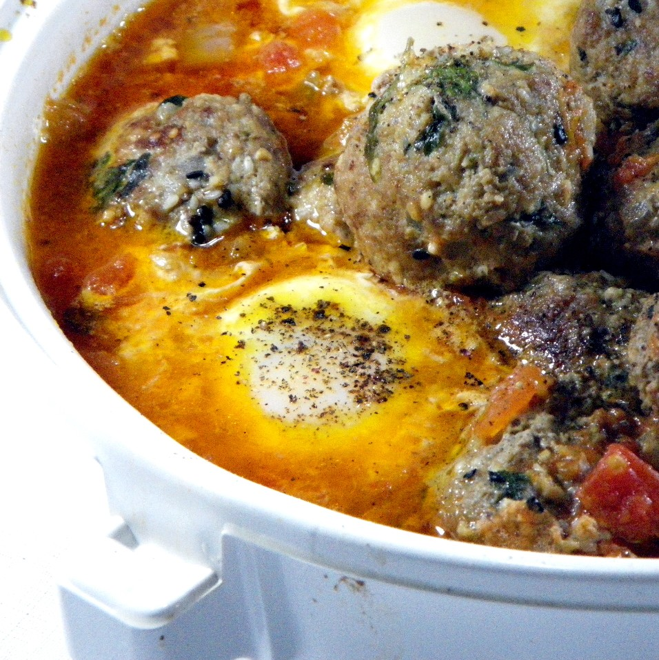 Kefta, Tomato And Egg Tagine Recipes — Dishmaps