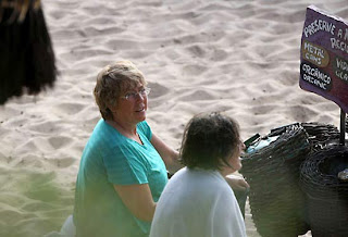 Michelle Bachelet en Bikini