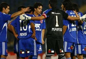 Ver partido de Universidad de Chile vs Cruzeiro