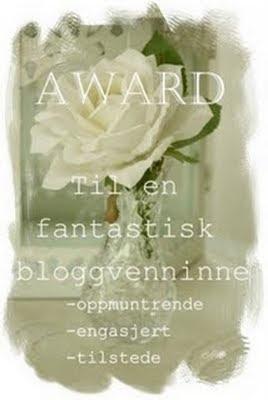 Til en fantastisk bloggvenninne -oppmuntrende, engasjert og tilstede
