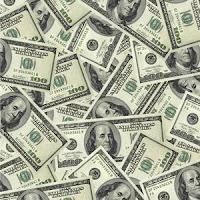 Various American hundred dollar bills